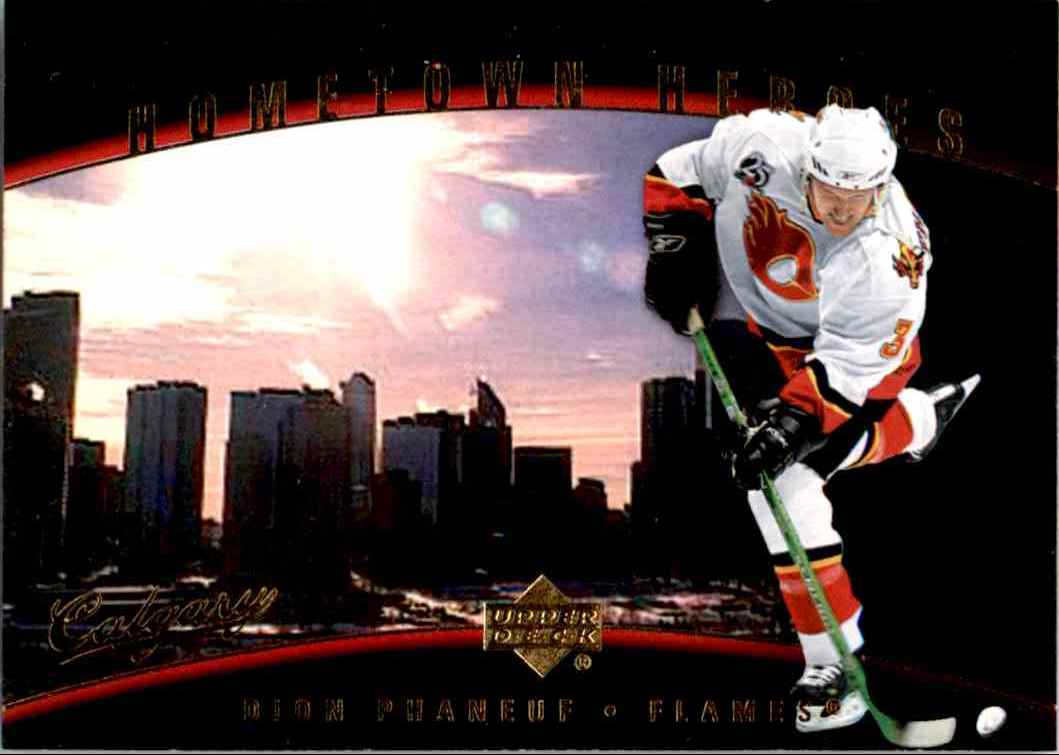 2006-07 Upper Deck Hometown Heroes Dion Phaneif #HH56 card front image