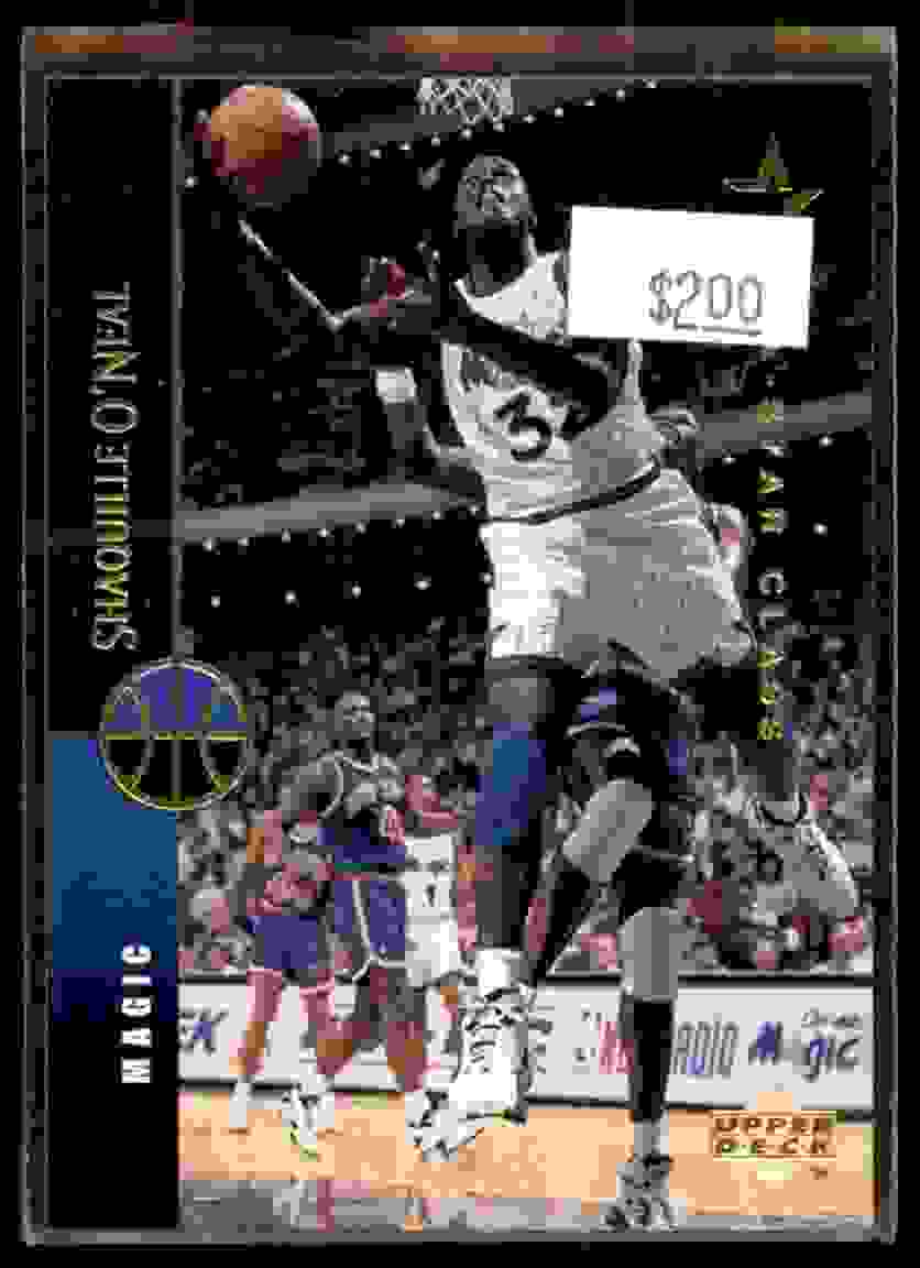 1994-95 Upper Deck Shaquille O'Neal #100 card front image