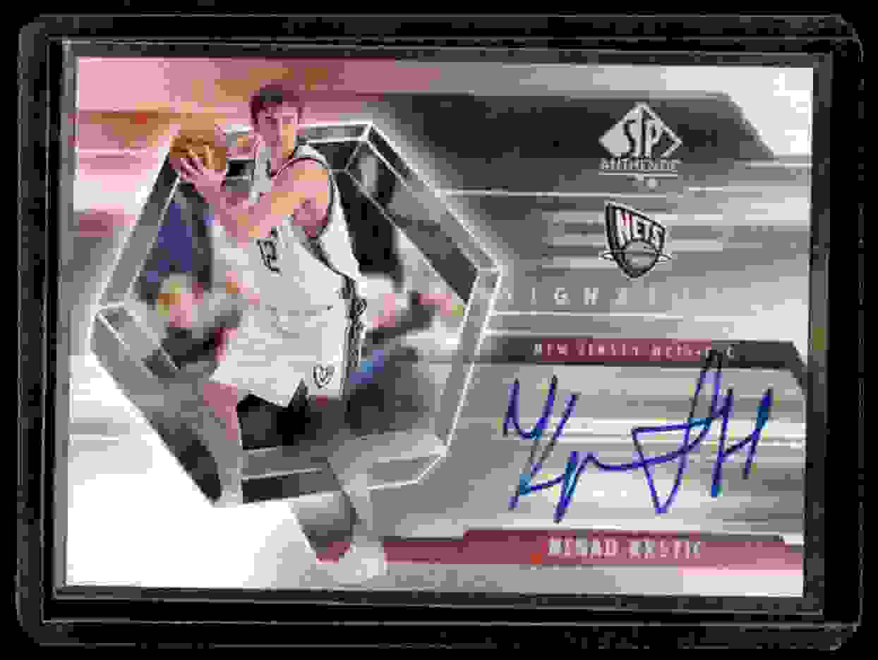 2004-05 SP Authentic Signatures Nenad Krstic #NK card front image