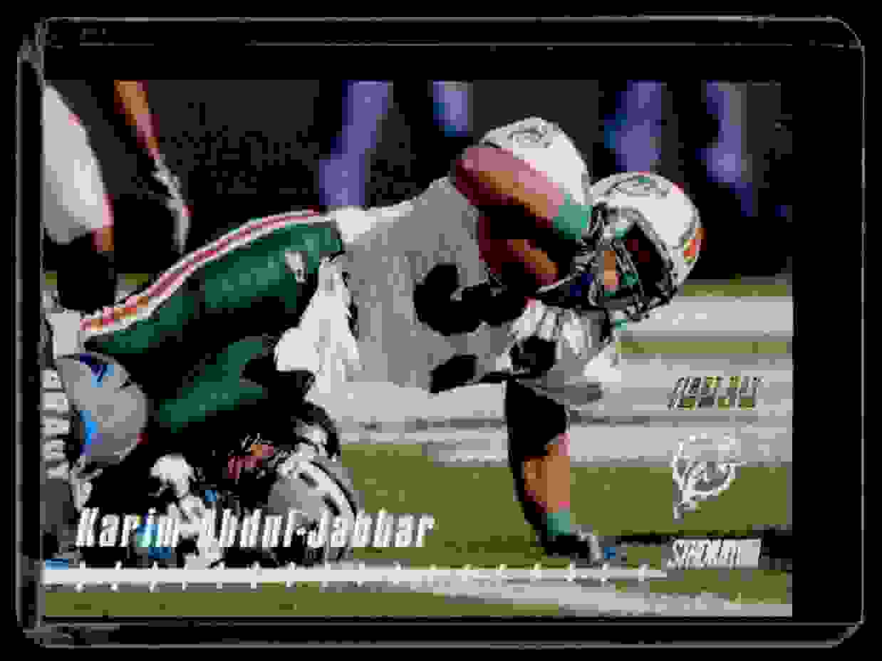 1998 Stadium Club One Of A Kind Karim Abdul-Jabbar #111 card front image