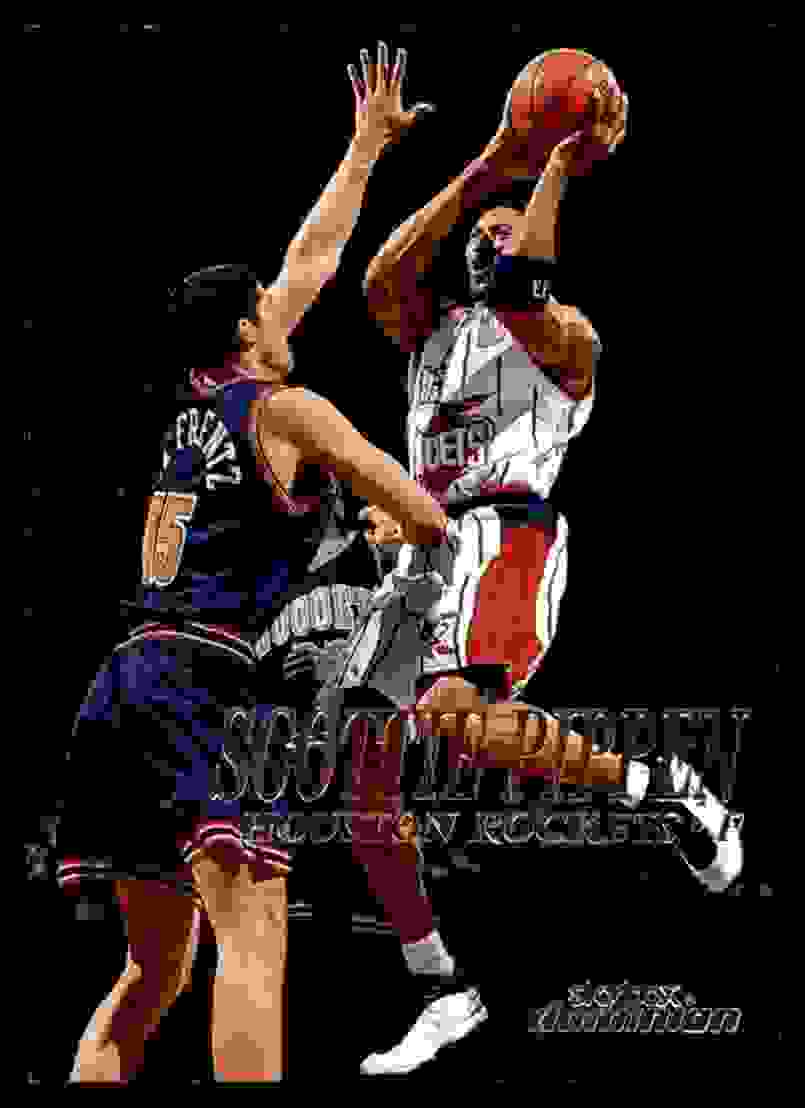 1999-00 Skybox Dominion Scottie Pippen #94 card front image