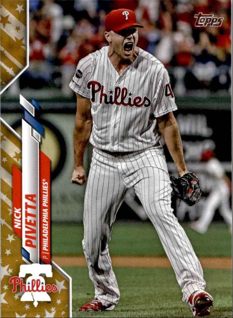 2020 Topps 2020 Complete Set Nick Pivetta #221 card back image