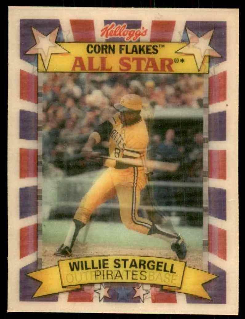 1992 Kellogg39s All Stars Willie Stargell 1 On Kronozio