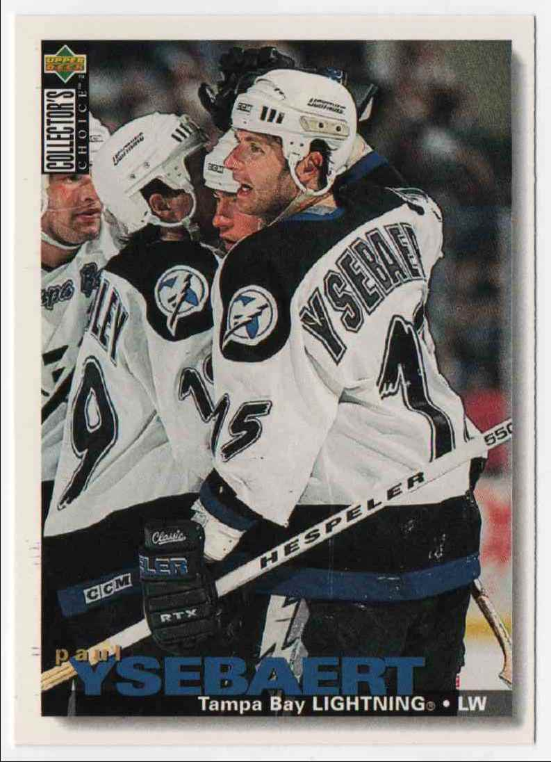 1995-96 Upper Deck Collector's Choice Paul Ysebaert #27 card front image