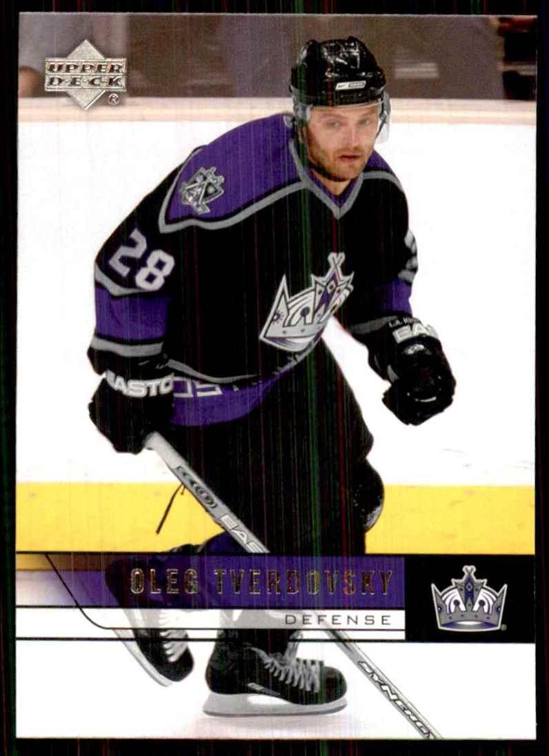 2006-07 Upper Deck Oleg Tverdovsky #344 card front image