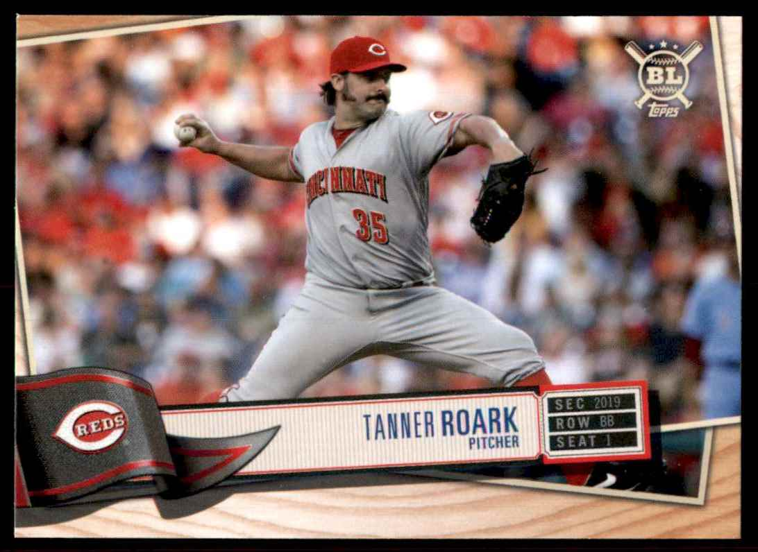 2019 Topps Big League Tanner Roark #272 card front image