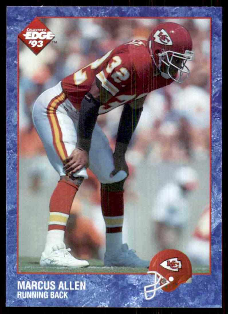 1993 Collector's Edge Marcus Allen #319 card front image