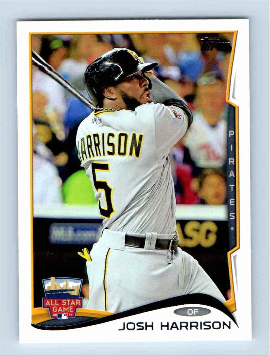 2014-15 Topps Update Josh Harrison - Pittsburgh Pirates #US 8 card front image