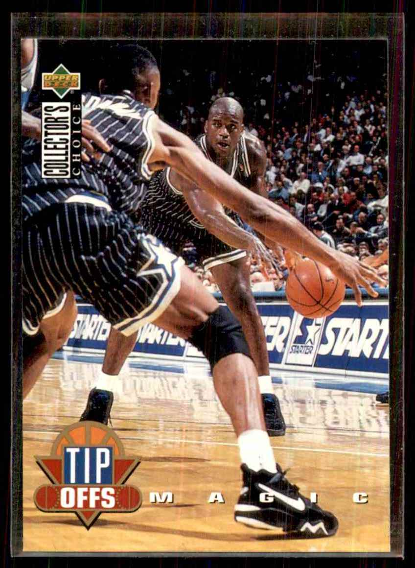 1994-95 Collector's Choice Shaquille O'Neal To #184 card front image