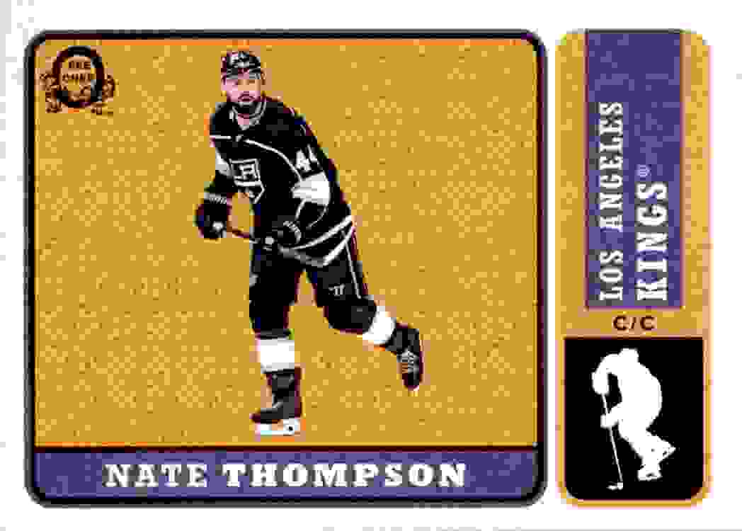 2018-19 O-Pee-Chee Retro Nate Thompson #166 card front image