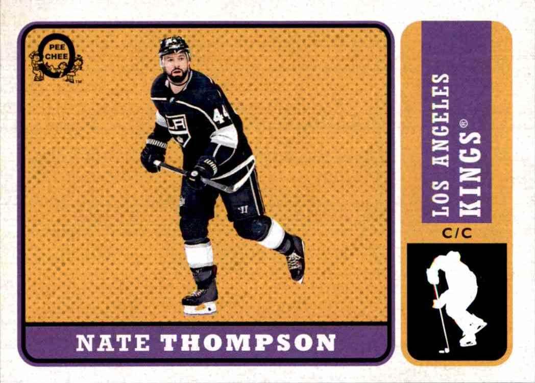 2018-19 O-Pee-Chee Retro Nate Thompson #166 card front image