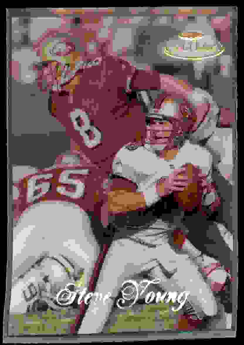 1998 Topps Gold Label Class 2 Steve Young #75 card front image