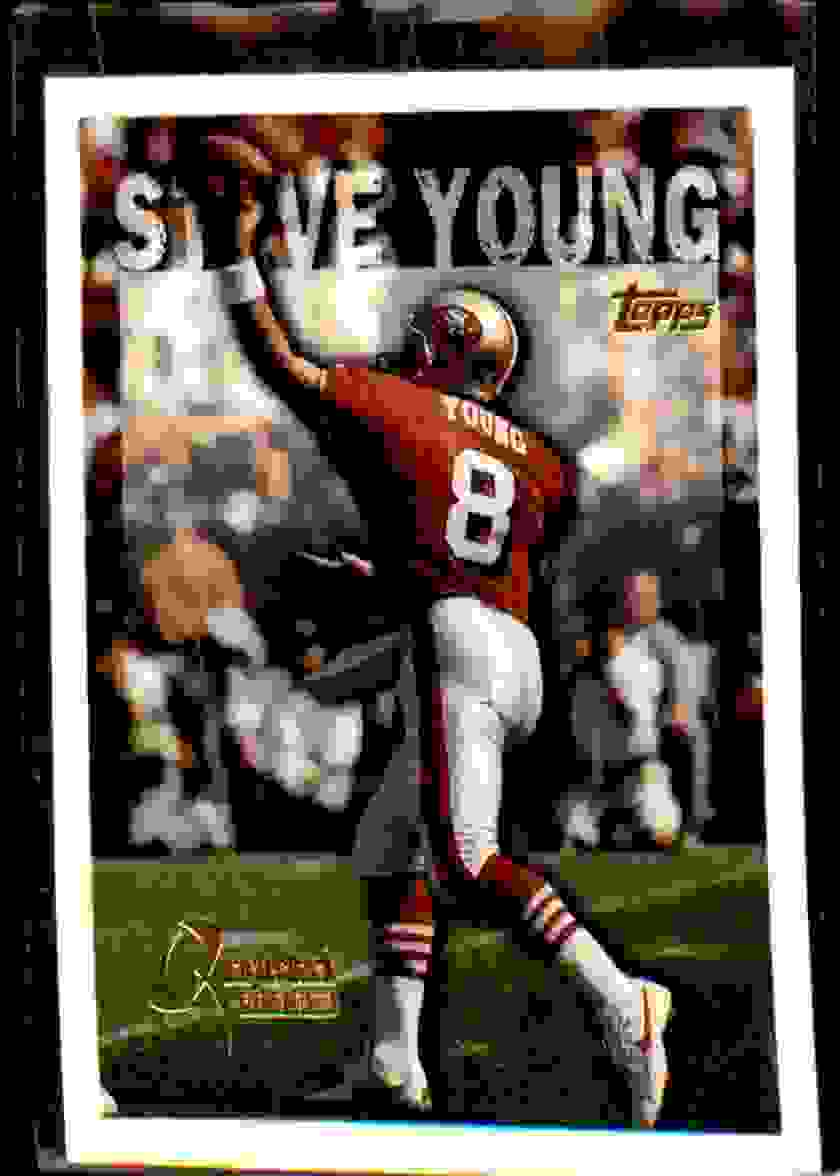 1995 Topps Steve Young #422 card front image