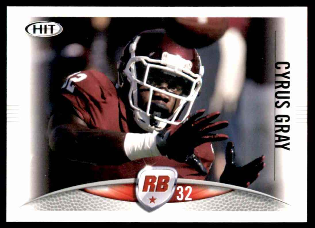 2012 Sage Hit Cyrus Gray #32 card front image