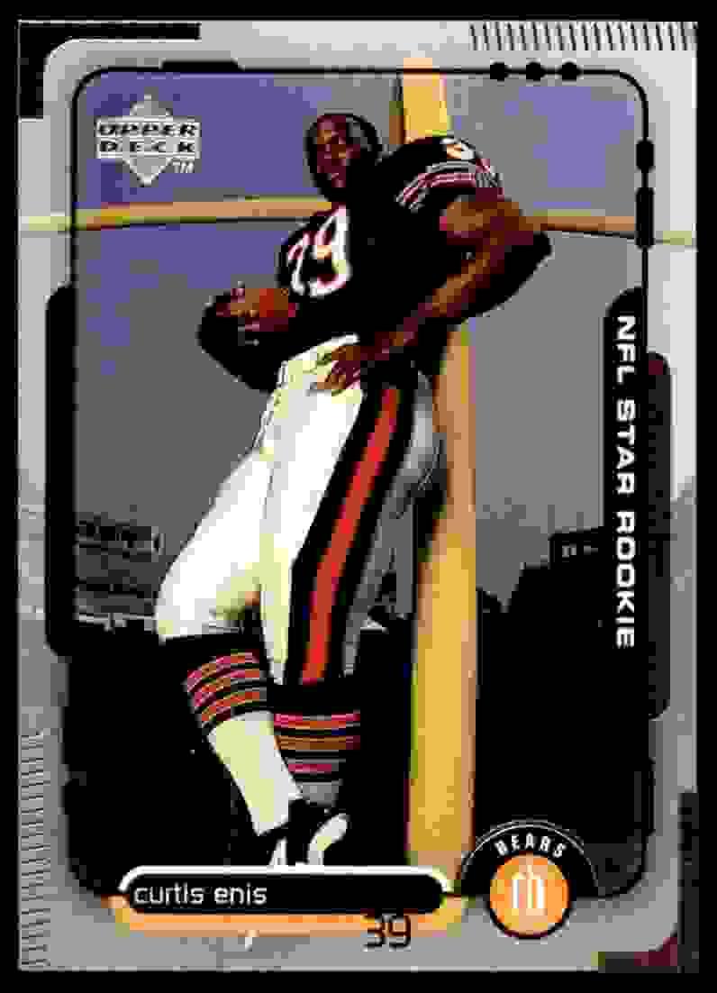1998 Upper Deck Curtis Enis #5 card front image