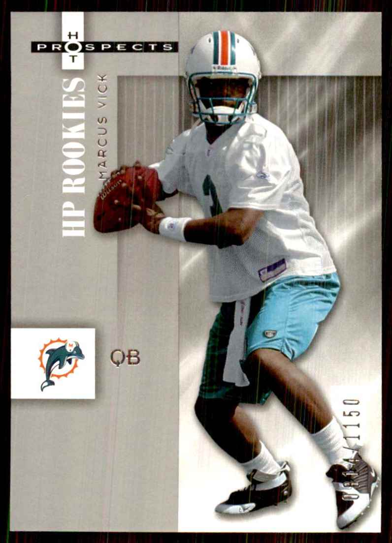 2006 Fleer Hot Prospects Marcus Vick RC #113 card front image