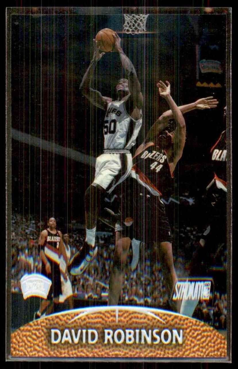 1999-00 Stadium Club David Robinson #32 card front image