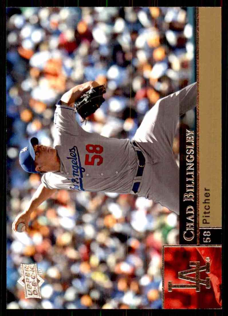 2009 Upper Deck Chad Billingsley #193 card front image