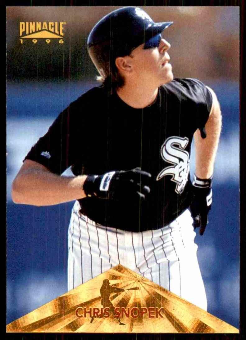 1996 Pinnacle Chris Snopek #188 card front image