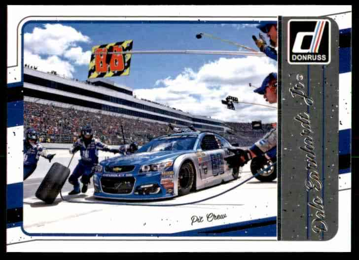 2017 Donruss Dale Earnhardt #93 card front image