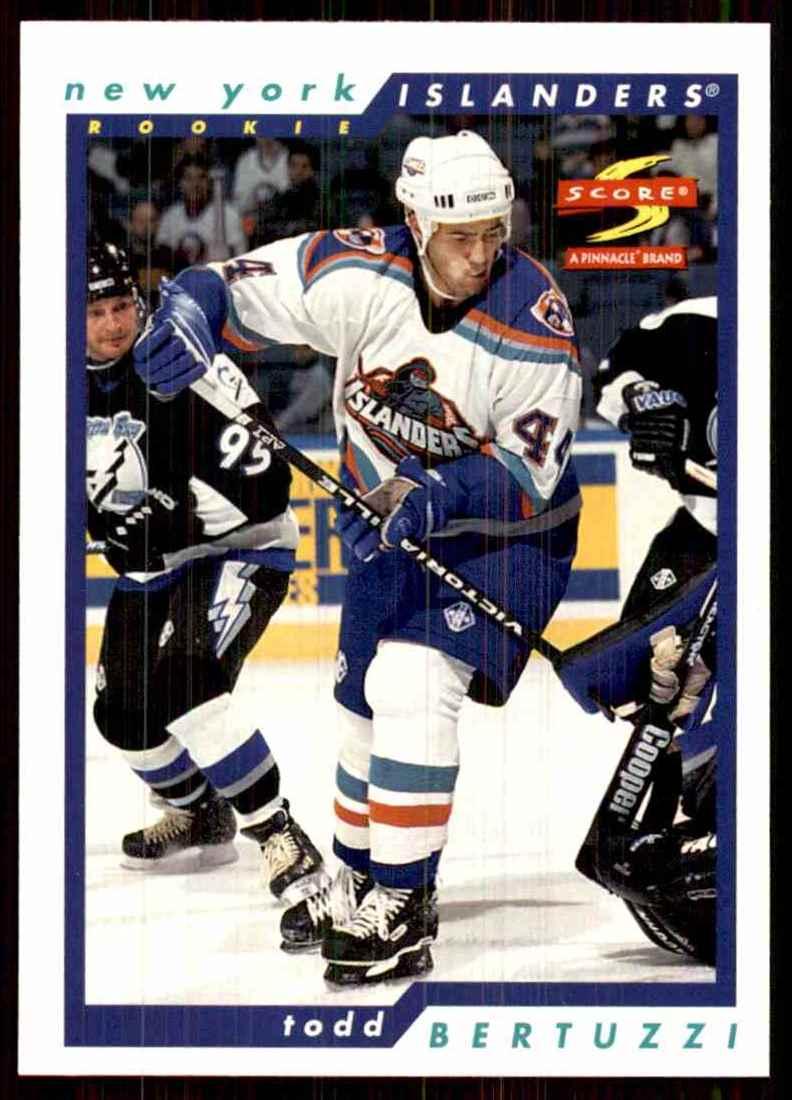 1996-97 Score Todd Bertuzzi #244 card front image