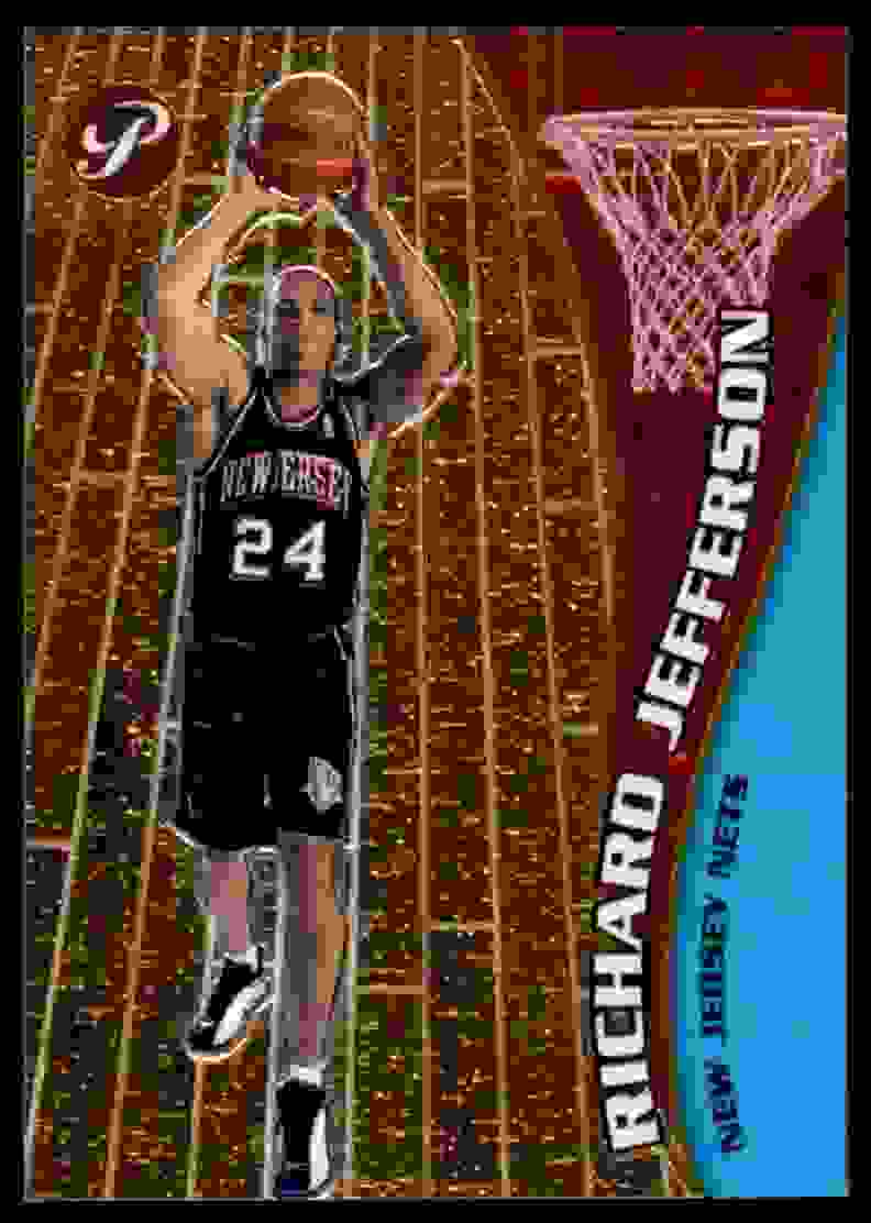 2001-02 Topps Pristine Richard Jefferson #93 card front image