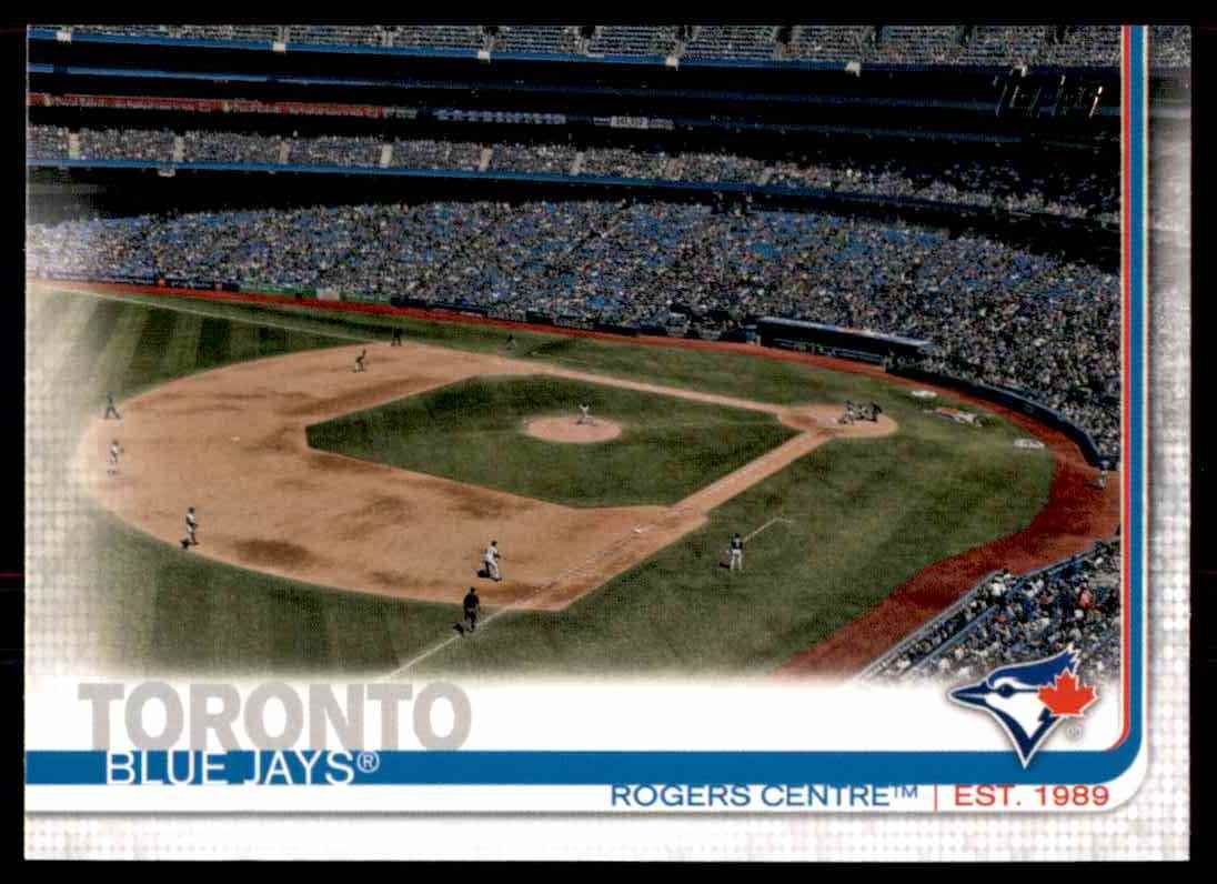 2019 Topps Rogers Centre #245 card front image