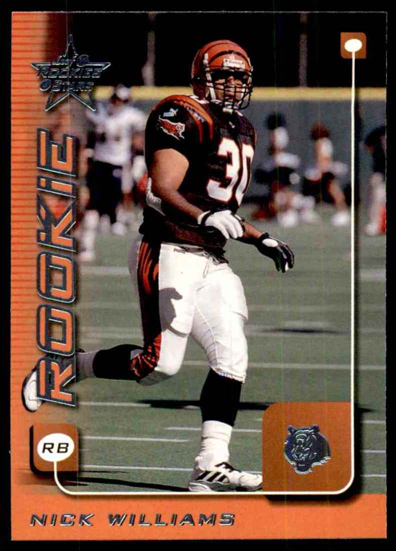 1999 Leaf Rookies & Stars Nick Williams #219 card front image