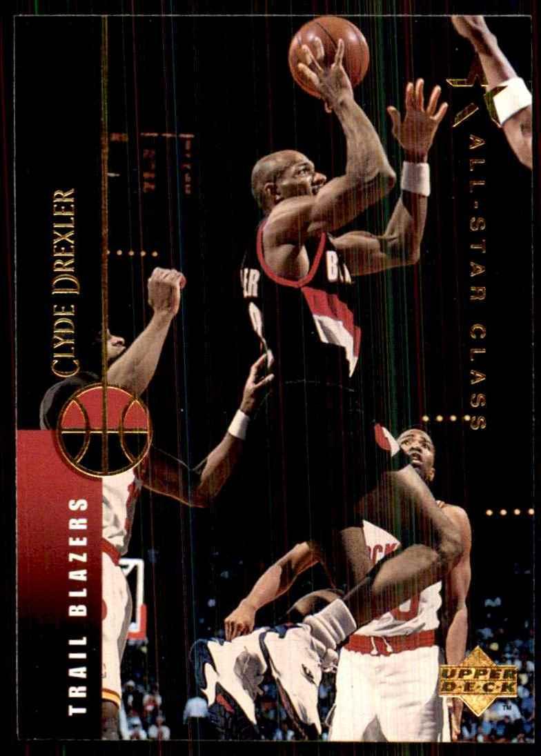 1994-95 Upper Deck Clyde Drexler #35 card front image