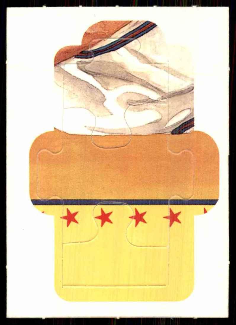 1989 Donruss Warren Spahn Puzzle Spahn Puzzle 28-30 #28 card front image