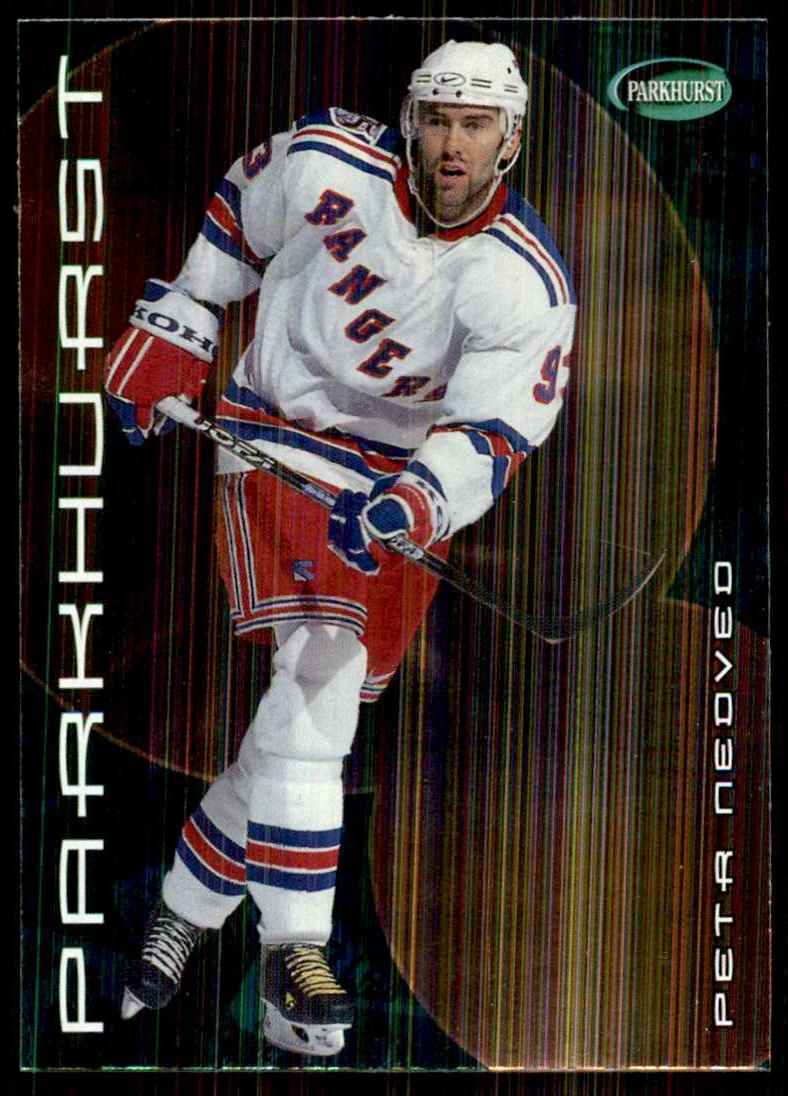 2001-02 Parkhurst Petr Nedved #101 card front image