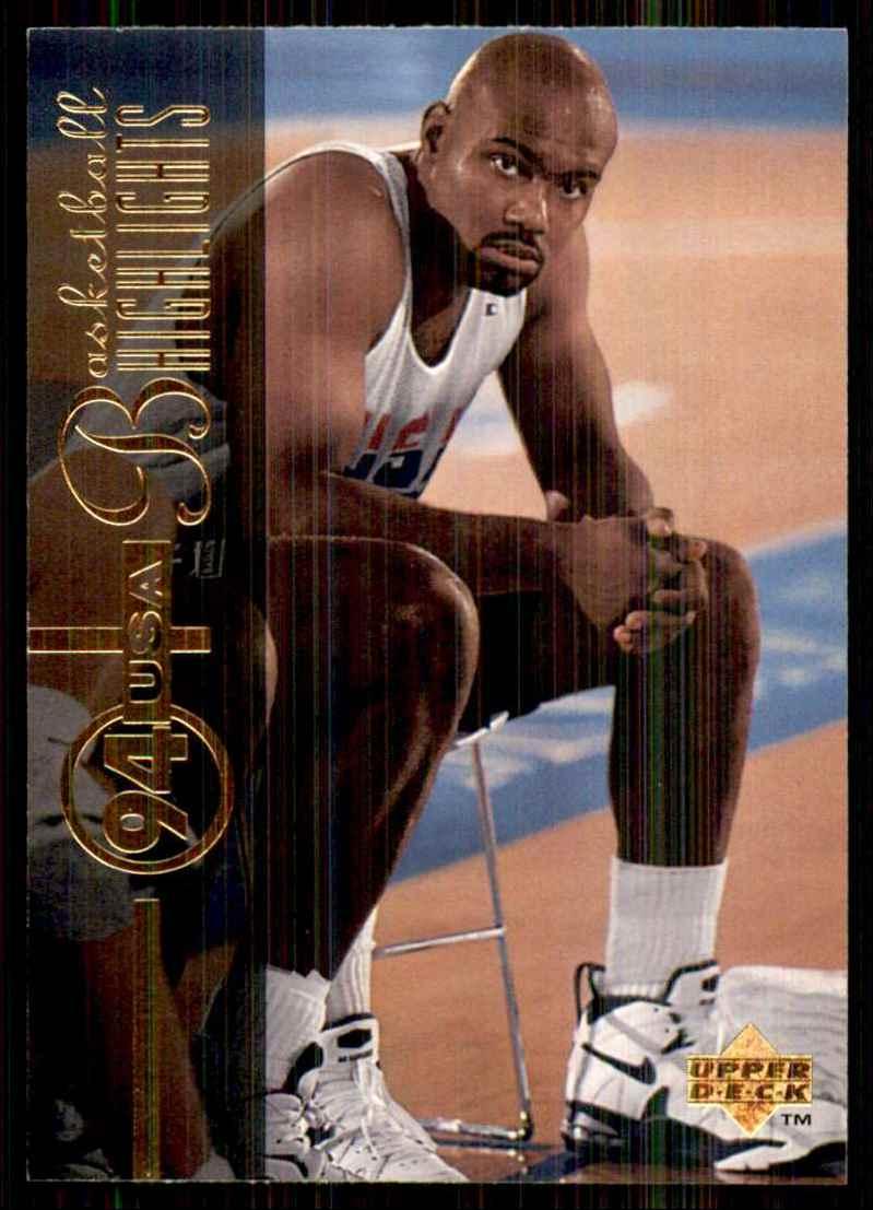 1994-95 Upper Deck Tim Hardaway USA #167 card front image