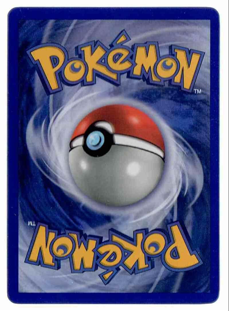 1999 Pokemon Base Set Unlimited Charizard Holo #4 card back image