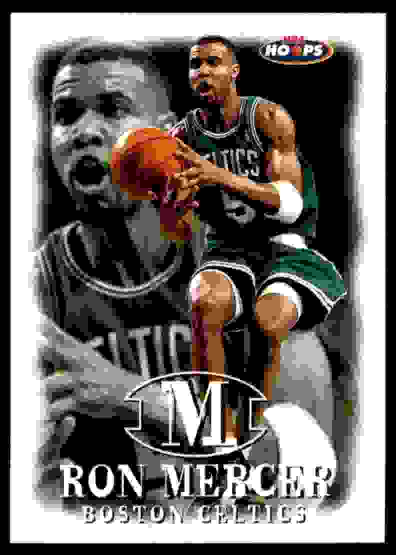 1998-99 Hoops Ron Mercer #123 card front image