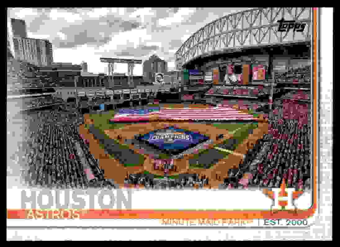 2019 Topps Minute Maid Park #159 card front image