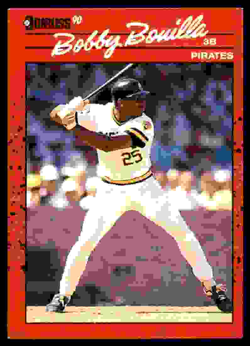 1990 Donruss Bobby Bonilla #290 card front image