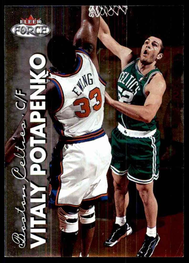 1999-00 Fleer Force Vitaly Potapenko #131 card front image