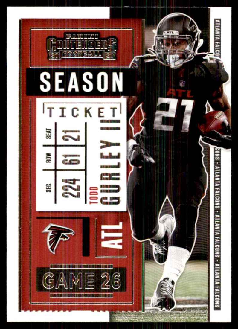 2020 Panini Contenders Todd Gurley II #96 card front image