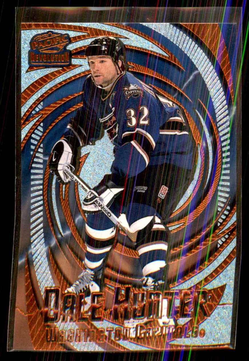 1997-98 Revolution Copper Dale Hunter #147 card front image