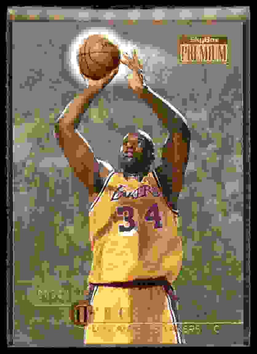 1996-97 Skybox Premium Shaquille O'Neal #163 card front image