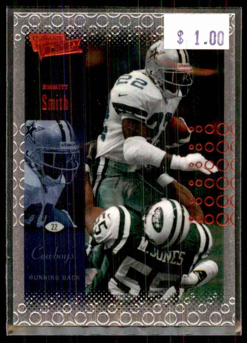 2000 Upper Deck Ultimate Victory Emmitt Smith #26 card front image