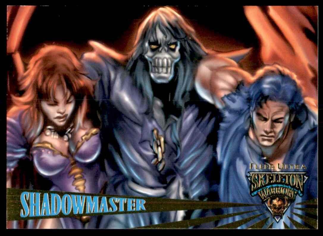 1995 Skeleton Warriors Ultra Fleer Shadowmaster #39 card front image