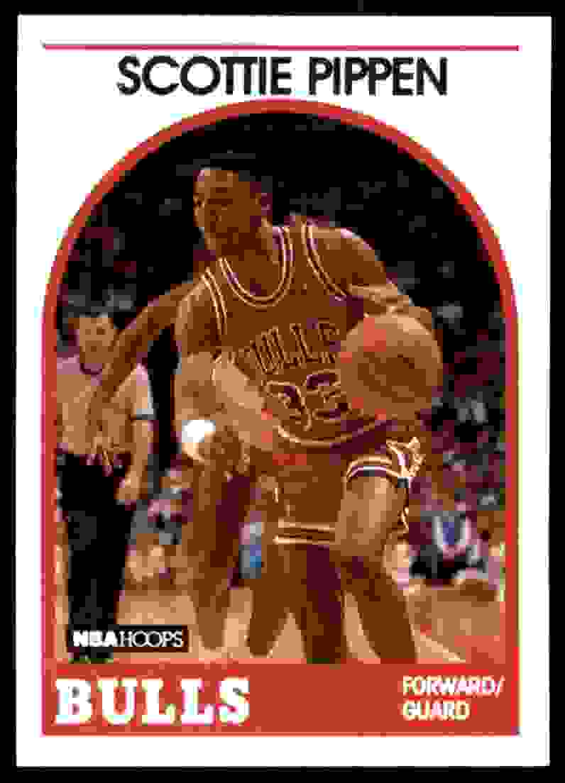 1989-90 Hoops Scottie Pippen #244 card front image