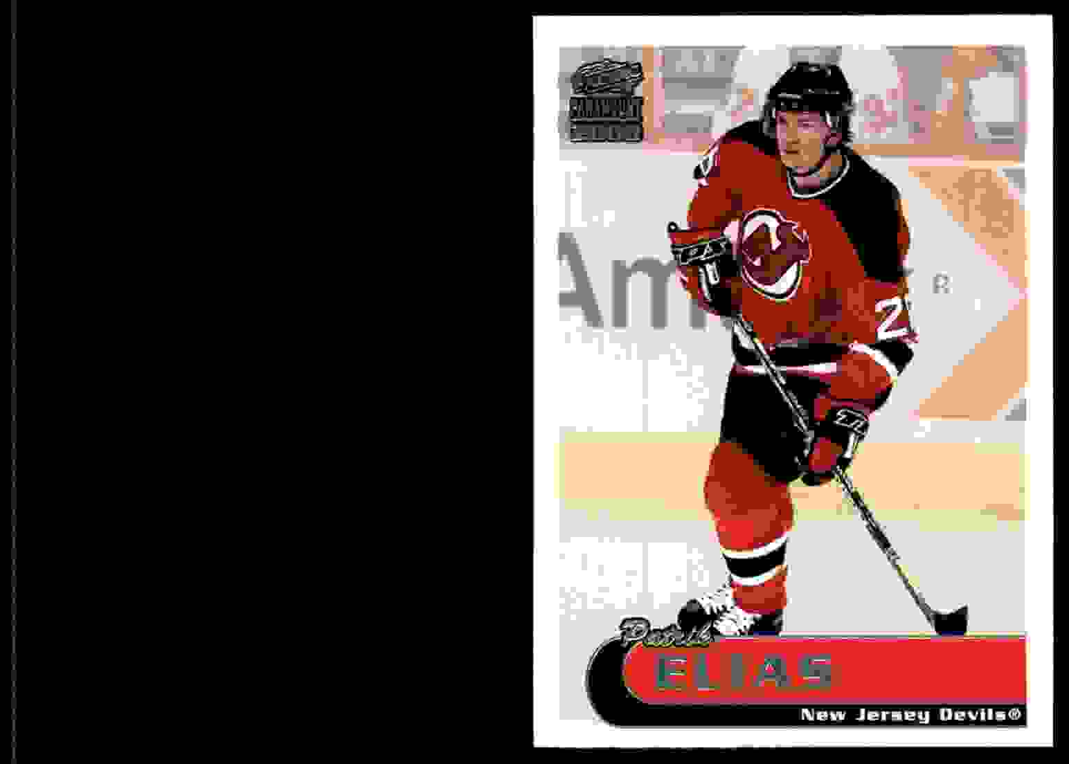 1999-00 Pacific Paramount Ice Blue Patrik Elias #132 card front image