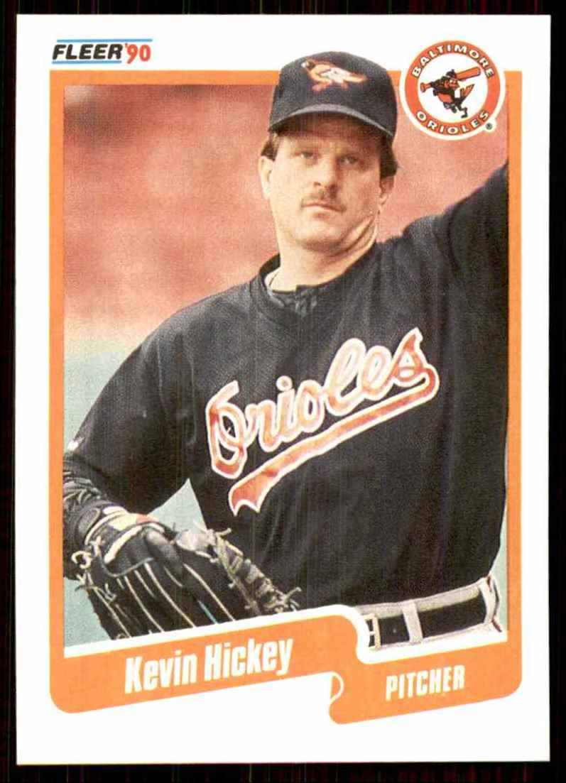 1990 Fleer Kevin Hickey #178 card front image