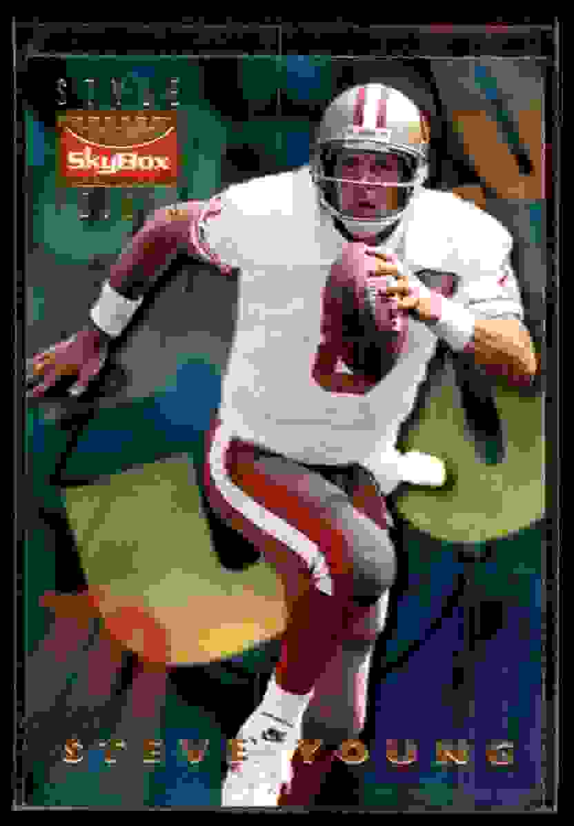 1995 Skybox Premium Steve Young #148 card front image