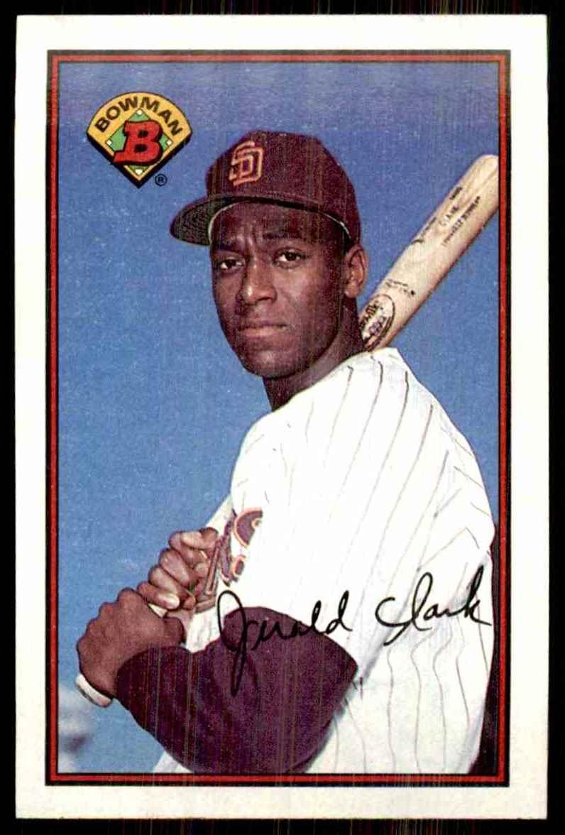 1989 Bowman Jerald Clark RC #462 card front image