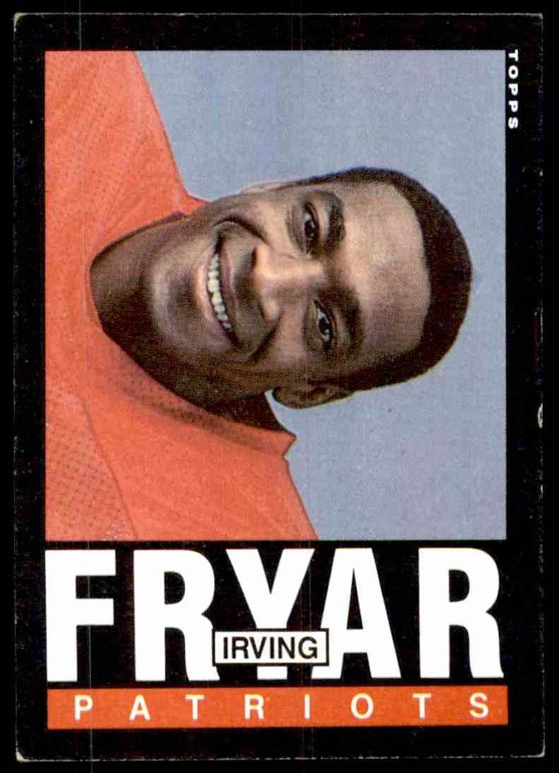 1985 Topps Irving Fryar #325 card front image