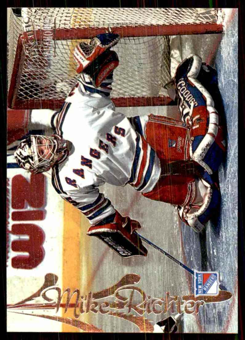 1997-98 Pacific Paramount Silver Mike Richter #119 card front image