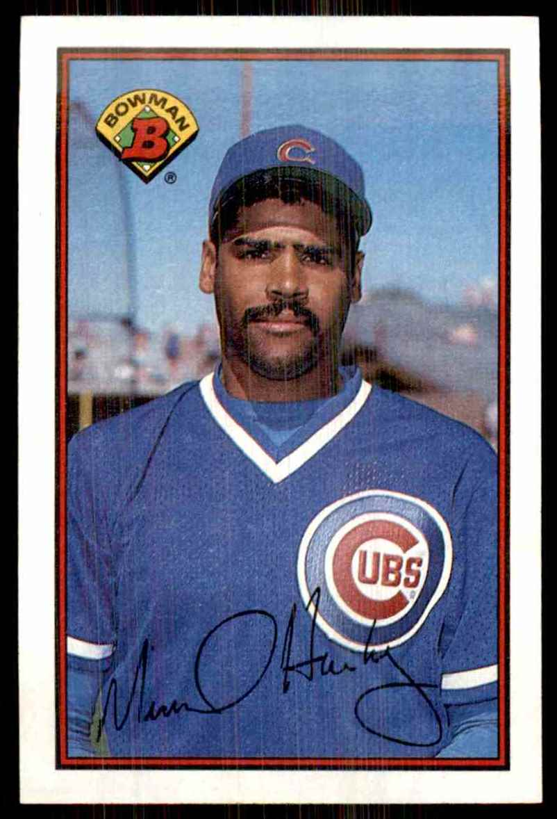 1989 Bowman Mike Harkey RC #286 card front image